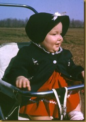Lindy in stroller - 63