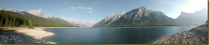 Spray Lake panorama